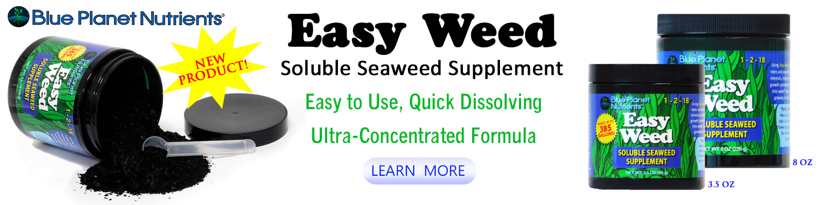 Easy Weed soluble seaweed
