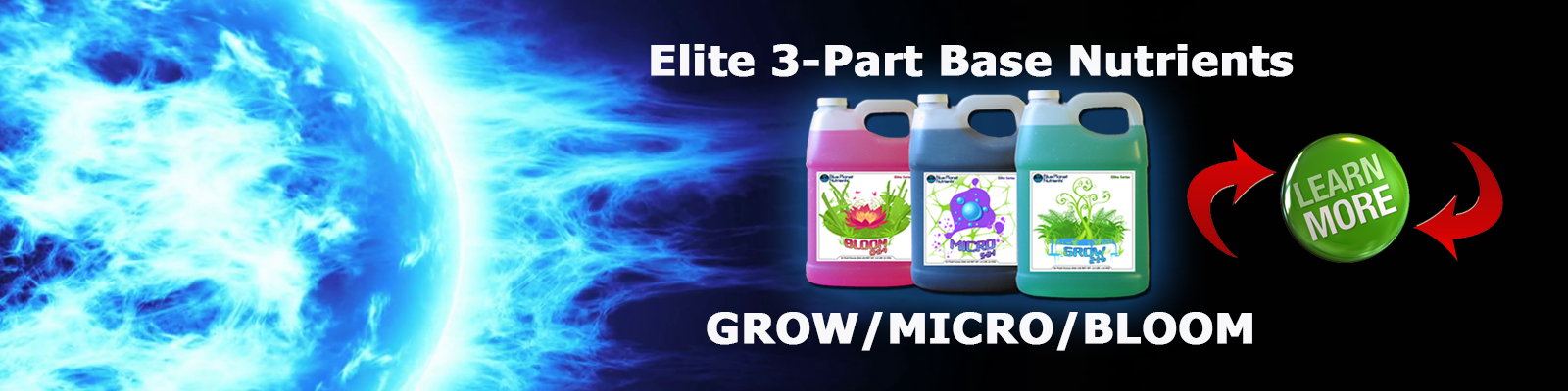 ELITE 3-Part hydroponic nutrients